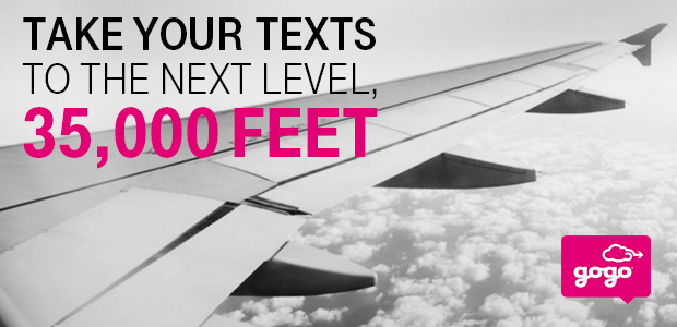 In Flight Texting With T Mobile And Gogo